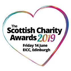 Scottish Charity Awards Logo 2019