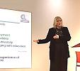 Dr Marion Allison presenting