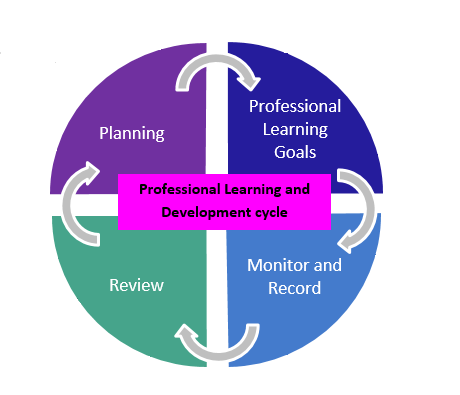 Professional Learning and development review cycle