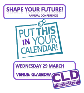 Shape your future conference wednesday 29 March 2017